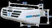 Транспортное холодильное оборудование Zanotti DFZ 430