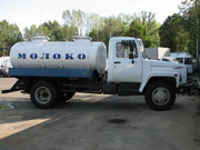 Пищевая автоцистерна (молоковоз) на шасси ГАЗ 3309