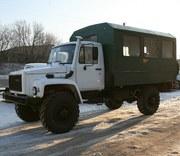 Вахтовый автобус на шасси ГАЗ 33081,  полноприводный,  4х4