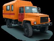 Автомастерская на шасси ГАЗ-33081 «Садко»,  4х4