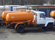 Вакуумная машина КО-503В2 на шасси ГАЗ 3309