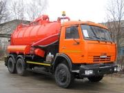 Илососная машина ко-530-01 на шасси камаз 65115