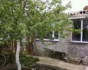 Продам участок в Костанае с домиком+строящийся дом