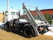 Контейнерный мусоровоз КО-450-08 на шасси МАЗ-4380P2