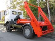 Контейнерный мусоровоз КО-450-10 на шасси МАЗ-5551W3