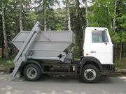 Контейнерный мусоровоз КО-450-11 на шасси МАЗ-4570W1