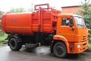 Мусоровоз с боковой загрузкой КО-449-19 на шасси КАМАЗ-43253