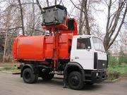 Мусоровоз с боковой загрузкой КО-449-33 на шасси МАЗ-5340В2
