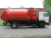 Мусоровоз с боковой загрузкой КО-449-35 на шасси МАЗ-5340В5