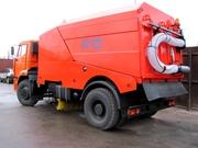 Подметально-уборочная машина КО-326-02 на шасси КАМАЗ-53605