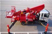 Автовышка телескопическая Hansin HS 3570 (35 метров)  на шасси Hyundai