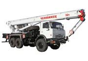 Автокран Челябинец на базовом шасси Камаз-43118
