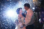 Спецэффекты на свадебный танец. Мыльные пузыри в Костанае