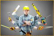 Ремонт,  отделка офисов,  квартир,  отделочные работы,  строительные работ