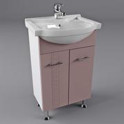 Тумба + раковина в ванную комнату