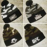 Камуфляжные шапки (UFC,  LONSDALE,  VENUM)